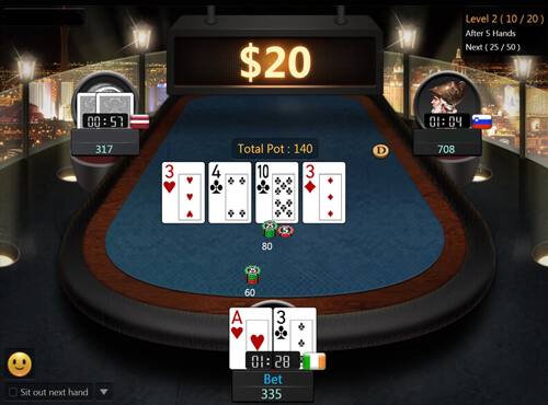 Fortune Spin Poker Card Games