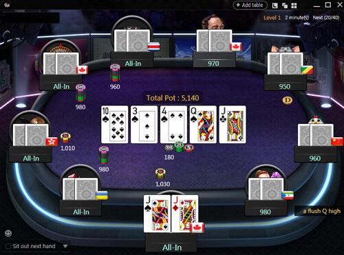Tournaments Poker Card Games